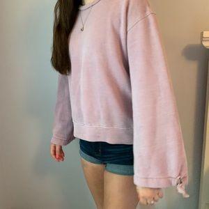 American Eagle Bell Sleeved Sweatshirt